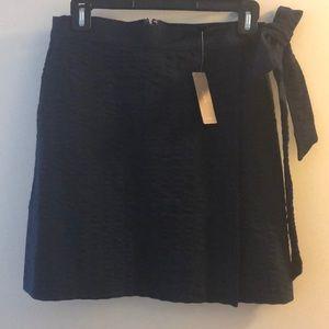 J Crew Faux Wrap Skirt